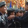 Elrika Figaro prepares members of the US Army Junior ROTC from East Boston High School.
