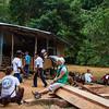 Brigadas Internacionales de Paz acompaña a la Asociación Campesina del Valle del Río Cimitarra desde 2007. La Acvc tiene como objetivo la defensa integral de los derechos humanos y la lucha por el derecho al suelo y a una equitativa redistribución de la misma de los campesinos colombianos.