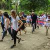 Respresentantes de la Embajada de Alemania, la Embajada del Reino Unido y la Misión II de las NAciones Unidas participaron en la caminata.
