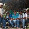 Líderes del territorio colectivo de Curvaradó y Pedeguita y Mancilla también estaban con nosotras y nosotros para contar la historia de sus desplazamientos y de sus luchas para  poder retornar a sus territorios, gracias a la creación de Zonas Humanitarias y Zonas de Biodiversidad.