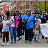 Mother's Day Walk for Peace at Columbia Road and Dudley Street--Upham's Corner.