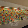 "Head O' Meadow students recently completed a ""Kindness Quilt"" created from paper that is on display at the school now. (Hallabeck photo)"