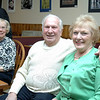 George and Carol Mattegat have moved to Florida after more than 60 years in Newtown. They enjoyed a going-away party hosted by longtime friend LeReine Frampton. Guests gathered Thursday, March 27, at her restaurant, LeReine's Cuisine. (Bobowick photo)