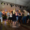 Guests took advantage of a large dancing area in front of the band at The Great Newtown Reunion event held on Saturday, July 27. (Bobowick photo)
