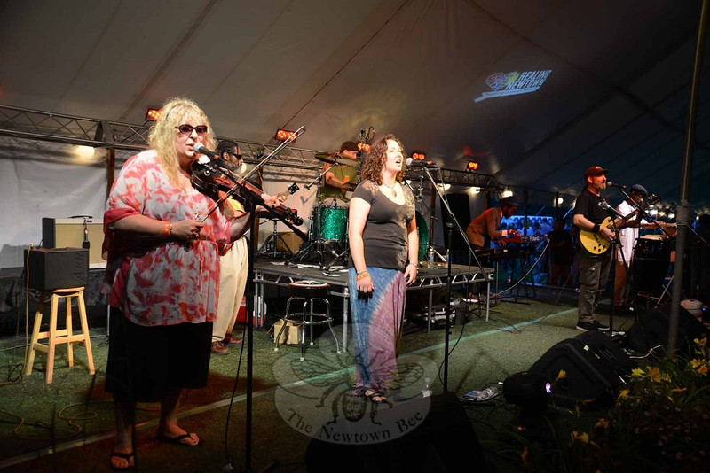 A host of musicians played throughout the day and into the night Saturday, July 27, at The Great Newtown Reunion. (Bobowick photo)