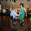 A pair of guests enjoy a dance Saturday at The Great Newtown Reunion. (Bobowick photo)