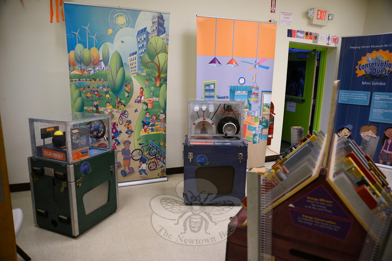 "Interactive art and science exhibits await young museum visitors at the EverWonder Experience, a ""mini museum"" occupying space donated by Tier One at 31 Peck's Lane.  (Bobowick photo)"