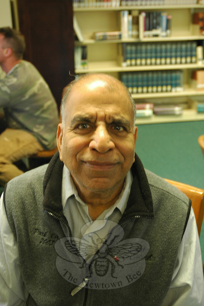 The Newtown Bee: What us the nicest thing a stranger has done for you? Iqbal (Izzy) Bansal: When I came to this country I only had $8 and my sister was unable to get me at the airport.  So, a nice taxi-man gave me a ride and $25. (Silber photo)