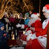 Every year Santa and Mrs Claus hand out candy canes to surprised young children. (Bobowick photo)