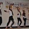 Members of the Lathrop School of Dance Senior Dance Team perform for diners at the Rotary Annual Pancake Day, Saturday, December 7. (Crevier photo)