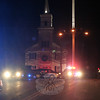 A couple in their 60s on their way to the tree lighting at Ram Pasture was struck by a vehicle as they crossed Church Hill Road at the Main Street intersection Wednesday evening. According to police and information obtained by The Bee, the couple had walked up Church Hill Road and was in the crosswalk on the eastern side of the intersection at about 6:30 pm when a vehicle turning left from Main Street struck them. Police did not identify the victims, but reported both sustained head injuries and were transported by Newtown Volunteer Ambulance Corps to a local hospital to be treated. No additional information about the vehicle or driver was released. The case is still under investigation. (Hicks photo)