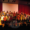 Head O' Meadow fourth grade students sang their Winter Concert under the guidance of music teacher Amanda Saperstein during a school assembly on Wednesday, December 3. The concert was later held during the evening of December 5 for parents and family mem-bers to attend. (Hallabeck photo)