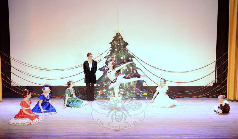 Performers move through the first act of The Nutcracker Suite Sunday during the 28th Annual Holiday Festival. (Bobowick photo)