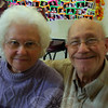 The Newtown Bee: What do you want for the holidays? Jeanette and Richard Colburn: To get together with friends and family and have an enjoyable time. (Silber photo)