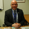 Newtown High School Principal Charles Dumais is set to assume his new position as superintendent in Amity Regional School District #5 on March 1. (Hallabeck photo)