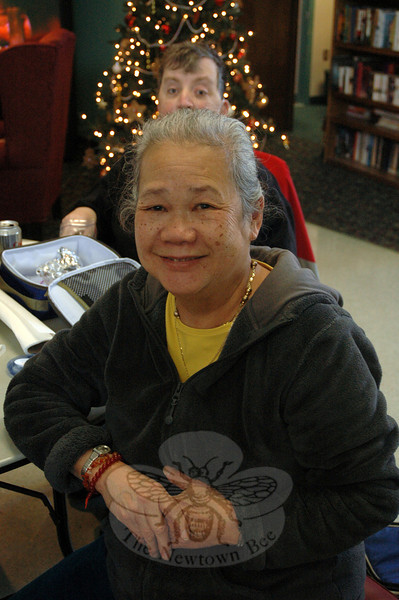 The Newtown Bee: If you could go anywhere right now, where would you go? Nonnie Low: Malaysia. It's where I'm from. It's nice and warm all the time. (Silber photo)