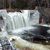 When temperatures skidded to zero and below early this week, the Pootatuck River iced over in many spots. Nowhere was the icing more spectacular than at the dam sites along Glen Road. This photo, taken at the dam near the converted mill building at 24 Glen Road, shows what happens when water suddenly mixes with extremely frigid air. (Clark photo)