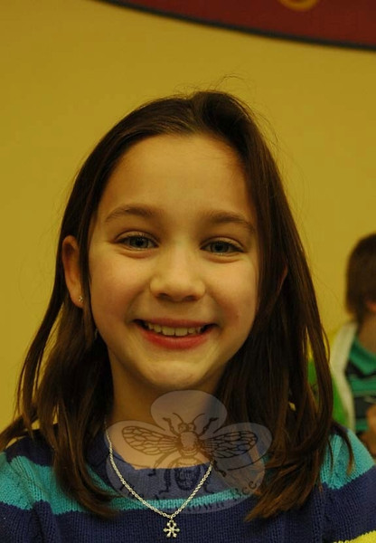 The Newtown Bee: If you could be anyone, including a historical figure, for one day, who would you want to be? Lexi Ferrara: Sacagawea, because she helped save people's lives. (Hallabeck photo)