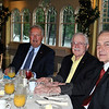 Lions Club members, from left, Greg Bruno, Paul Arneth, and Tom Evagash enjoy some pre-breakfast chat, Wednesday morning. The Lions Club was a corporate sponsor of the breakfast fundraiser. (Crevier photo)