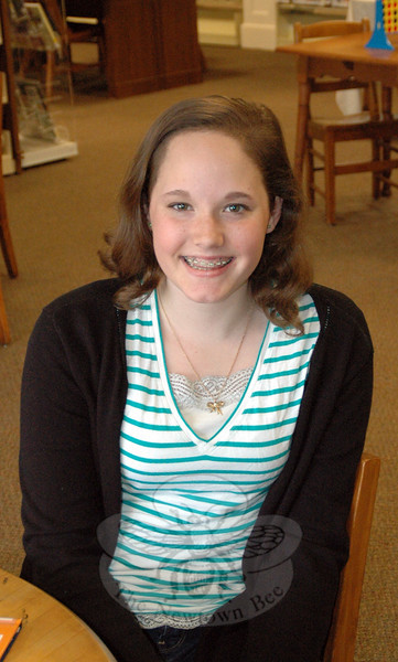 The Newtown Bee: What's the best advice your father ever gave you? Katie Hazzard: Try my hardest at everything I do. (Gaston photo)