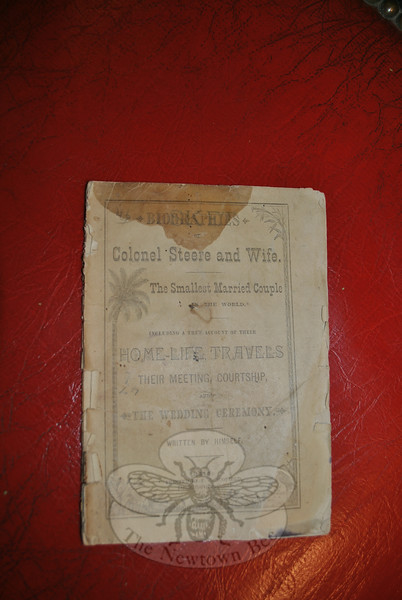 Published in Danielson, Conn., in the 19th Century, this pamphlet is the autobiography of the self-proclaimed World's Smallest Married Couple.  (Crevier photo)