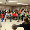 The Cakewalk game was held in one room at Middle Gate on Friday, May 23, for the school's Middle Gate Madness event. (McHugh photo)