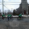 Members of Team 26 traveled down Main Street as they began their 400-mile ride to Washington, DC, on Saturday, March 8. (Hallabeck photo)