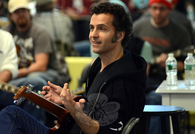 Guitarist and bandleader Dweezil Zappa is among the star-studded line-up appearing March 29 at Waterbury's Palace Theater on the 2014 Experience Hendrix Tour. Zappa will be joined onstage by Jimi Hendrix Experience bassist Billy Cox, and fellow guitarists Buddy Guy, Jonny Lang, Kenny Wayne Shepherd, bassist Bootsy Collins, Brad Whitford of Aerosmith, Eric Johnson, Doyle Bramhall II, Chris Layton, Eric Gales, Ana Popovic, Henri Brown, Dani Robinson, Stan Skibby, and Quinn Sullivan. Go to newtownbee.com, under the Features tab, to check out The Newtown Bee's full-length interview with Zappa ahead of his local appearance. (Voket photo)