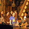 Lexi Tobin, center, is portraying Wendy in the high school's musical production of Peter Pan, which runs March 20 to 23. (Hallabeck photo)