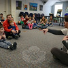 Saturday, March 22, brought a fun and action-packed day of activities for the general public to the C.H. Booth Library, including a session led by Julie Capuano of Music Together of Monroe and Newtown, who engaged families through singing and movement. (Voket photo)