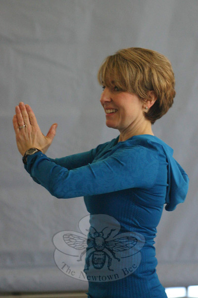 A certified PraiseMoves instructor for nearly ten years, Ms Adams is also a personal trainer, health coach, and group fitness instructor. (Hicks photo)