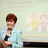 Parent University keynote speaker, author, and child counselor Jane Nelson, EdD, spoke to a standing-room crowd detailing her concepts about positive discipline that help mitigate issues involving spoiled children, bullying, school violence, power struggles, lack of cooperation, back talking, and disrespect. (Voket photo)