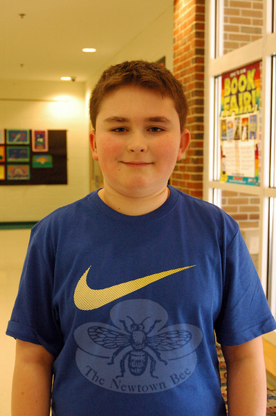 Cole Morelli will take part in the semifinals of the 2014 Connecticut State Geographic Bee after advancing first through Reed Intermediate School competitions then by taking a written test. (Hal-labeck photo)