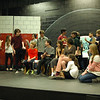 Students in the upcoming Newtown Middle School musical production of Grease: School Version rehearsed after school on Monday, March 3. Grease: School Version is set to be performed on March 14 at 7 pm, March 15 at 7 pm, and March 16 at 2 pm. Tickets will be $10 for adults and $8 for students and seniors. A free Senior Tea is planned for Thursday, March 13, starting at 2:30 pm for senior citizens. The show will be shown starting approximately at 3:15 pm. Those expecting to attend the senior tea are asked to RSVP to Christine Doscher by March 7 by calling 203-304-1204. (Hallabeck photo)
