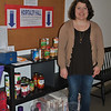 "Allysa De Wolf, assistant minister at Newtown Congregational Church, hopes that the upcoming ""Face of Poverty and Homelessness"" program, May 13, will dissuade residents of stereotypes about others who use social services and food pantries, as well as provide information on local poverty issues and how community members can respond in a positive manner. (Crevier photo)"