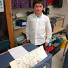 Mihall Dushi presented Benedict Arnold for his Living Biographies project. (Hallabeck photo)