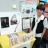 Marcus Graffeo presented Eli Whitney for his Living Biographies project. (Hallabeck photo)