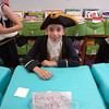 Cole Harrington presented Benedict Arnold for his Living Biographies project. (Hallabeck photo)