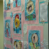 Head O' Meadow held its annual art show on Wednesday, May 14, and during the show creations by kindergarten through fourth grade students were on display throughout the school. (Hallabeck photo)
