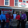 A Meet the Candidates event was held at Village Perk Café on Saturday, October 26, for members of the public to meet Republican candidates for the Board of Education, Legislative Council District 2 and Town Clerk Debbie Aurelia. From left are, BOE candidate Keith Alexander, Legislative Council District 2 candidate Mary Ann Jacob, Legislative Council District 2 candidate Ryan Knapp, BOE candidate Kathy Hamilton, BOE candidate David Freedman, Ms Aurelia, Legislative Council District 2 candidate Dan Wiedemann, and BOE candidate Debbie Leidlein. A Meet the Candidates event was also held Saturday night at The One-Eyed Pig. (Hallabeck photo)