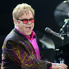 Sir Elton John was animated as he performed on opening night of his world tour November 8 at the Webster Bank Arena at Harbor Yard in Bridgeport. The renowned musician was celebrating the 40th Anniversary of his multimillion selling album Goodbye Yellow Brick Road, and also performed a couple of numbers from his latest effort, The Diving Board. (Voket photo)