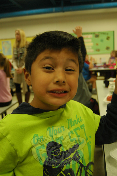 Newtown Bee: What is the best gift you can give someone? Giovanni Rivera: Angry Birds.