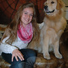 Maddie Stites, a sixth grader at Reed Intermediate School, is organizing her 3rd Annual Kids Lend a Paw (KLAP) dog walk for Saturday, November 16, at Fairfield Hills. (Hallabeck photo)