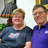 Juggling their schedules so that they have time off together is the biggest challenge they face, say Sue and Kevin Corey, when working for the same company, Home Instead Senior Care. (Crevier photo)