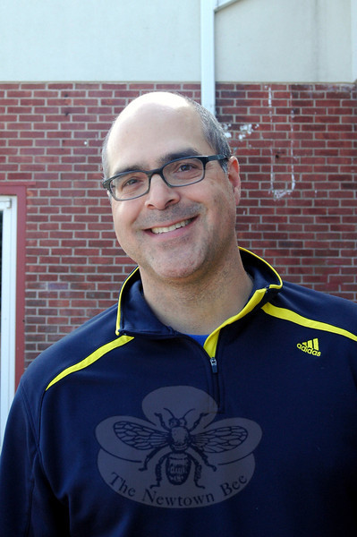 The Newtown Bee: What does Newtown mean to you? Michael Dimartino: Family and friends. (Silber photo)