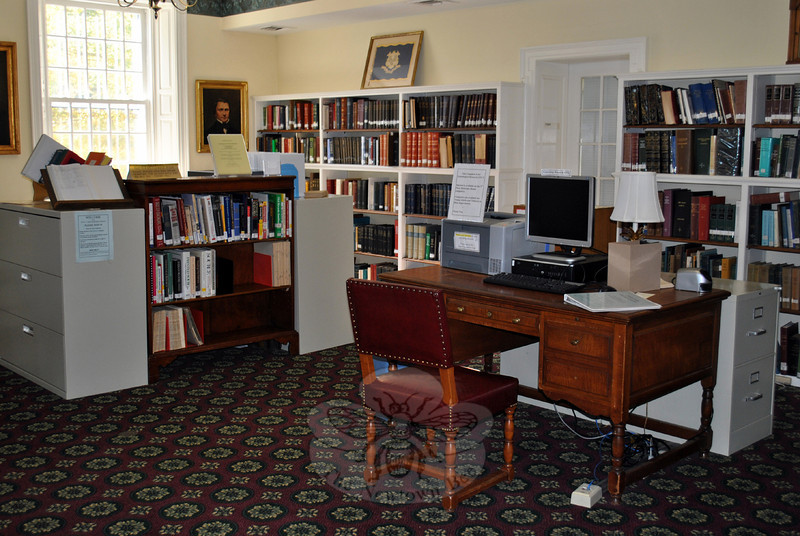 The bylaws of the Board of Trustees of the C.H. Booth Library charges the 18-member board with controlling activities and property of the library, including purchasing supplies and books, as well as the business and management of the facility. A trust fund from Mary Elizabeth Hawley and other en-dowments and gifts, and primarily funding from the Town of Newtown, enables the board to do its job. (Crevier photo)