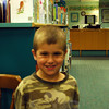 The Newtown Bee: September, according to the American Library Association, is Library Card Signup Month. Roughly how old were you when you got your first library card? Ty Jorgenson: Four years old [a few weeks ago]. (Silber photo)