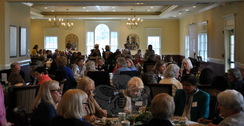 The Garden Club of Newtown hosted 128 guests at Rock Ridge Country Club, Wednesday, April 1, for a 60th Anniversary luncheon. (Crevier photo)