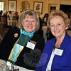 Newtown First Selectman Pat Llodra, right, joined Jacqueline Connell at the luncheon celebrating the 60th Anniversary of The Garden Club of Newtown. Ms Connell is the outgoing president of the Federated Garden Clubs of Connecticut. (Crevier photo)
