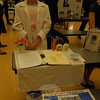 Claire Fiordelisi studied Marie Curie for her Wax Museum project. (Hallabeck photo)